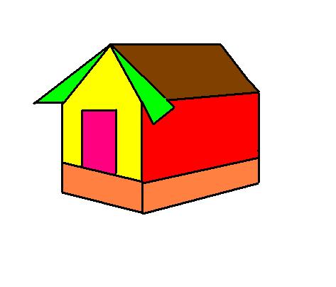 Step 1`3 to make a hut