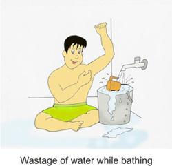 Bathing image