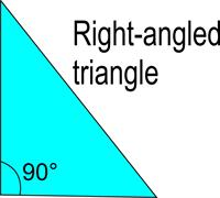 Right-angled triangle