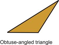 Obtuse-angled triangle