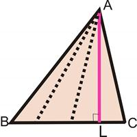 Altitudes of triangle