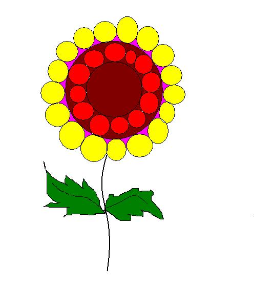Step Nine to make a flower