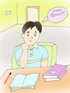 Examination stress on your kid