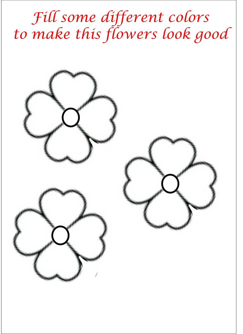 Colouring in pictures of flowers - Colouring In Pictures Of Flowers 56