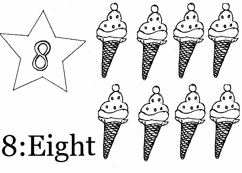 Coloring Page Of Number 8 Coloring Pages For 8 And Up Free
