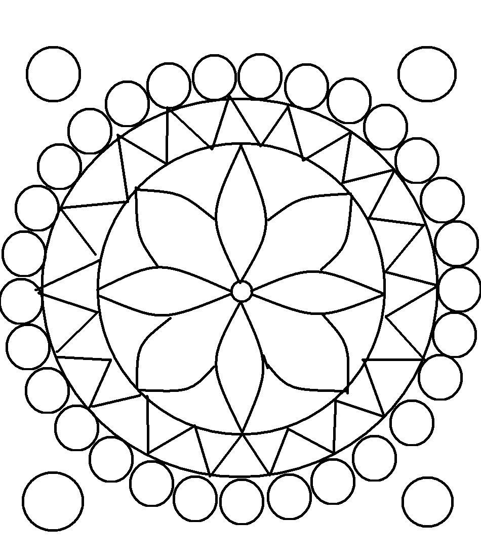 pattern coloring pages for teens - photo#30