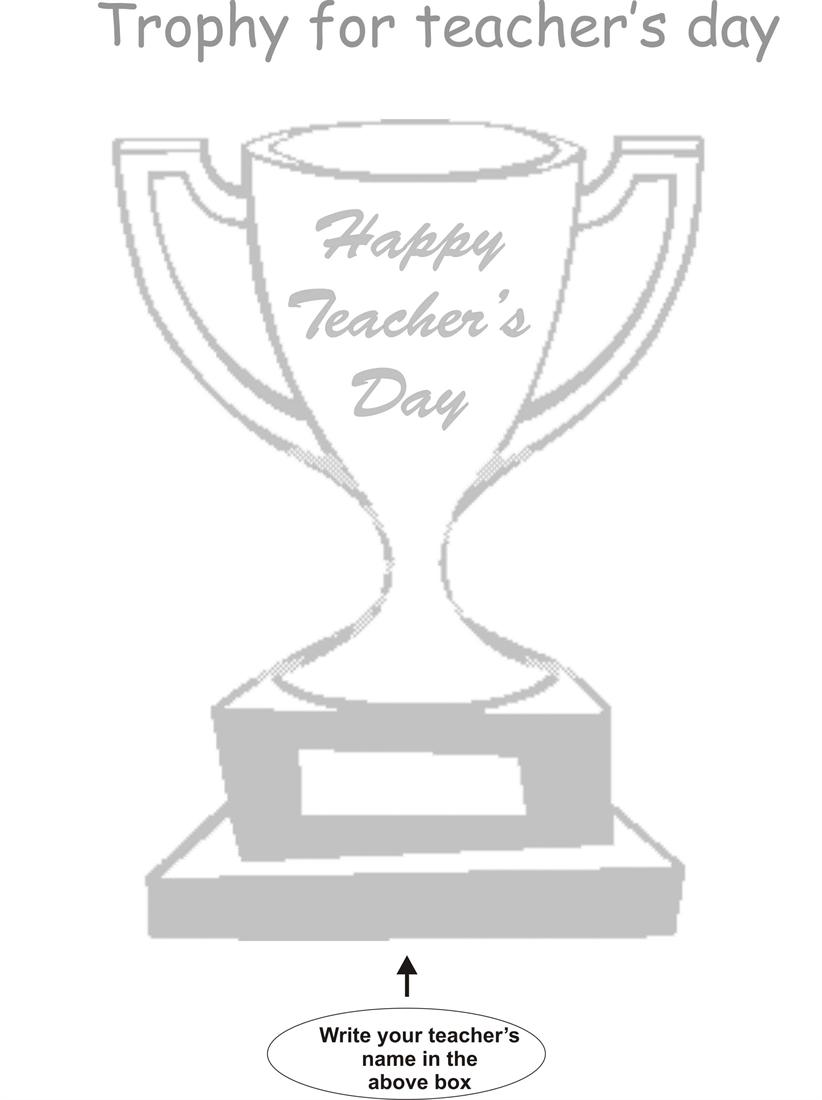 Teachers day coloring worksheets for kids 4