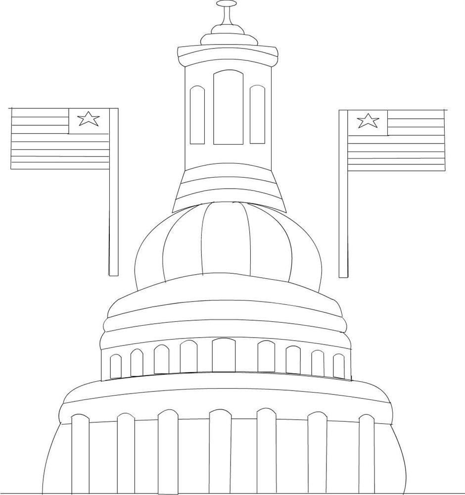 4th Of July Coloring Pages Pdf : Th july printable coloring page for kids