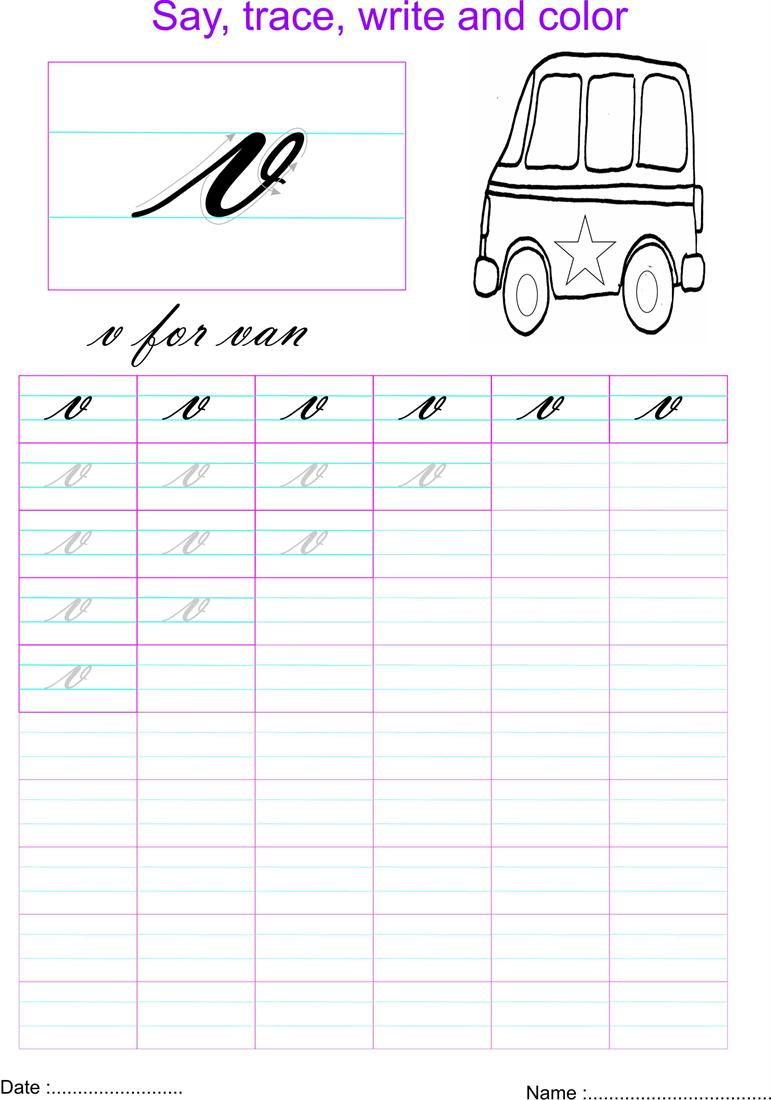 ... cursive small letters practice worksheets open pdf file and print