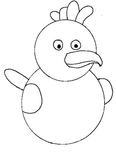 step 10 to make a bird - Drawing For Small Kids