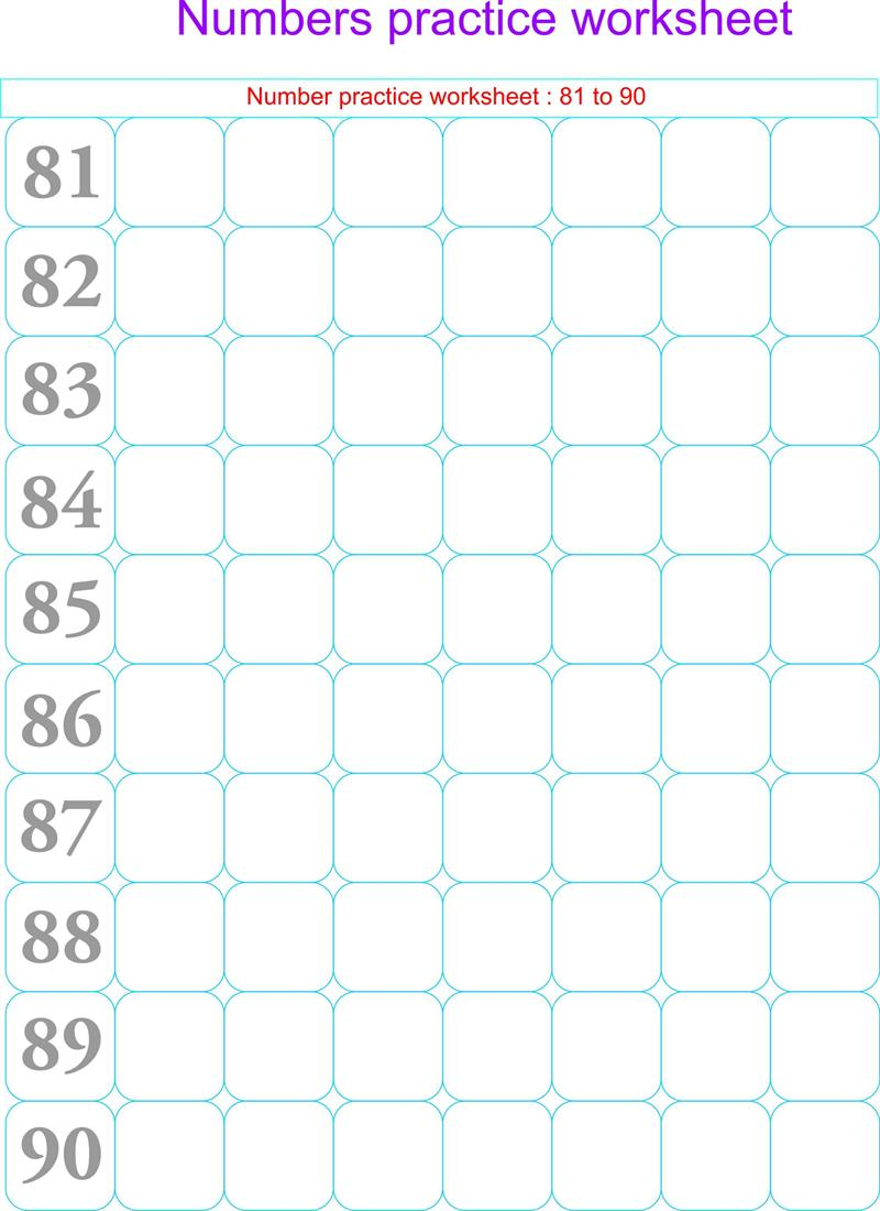 free printable counting worksheets for kindergarten