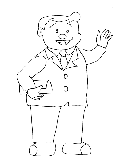 Doraemon Printable Coloring Page For Kids 7