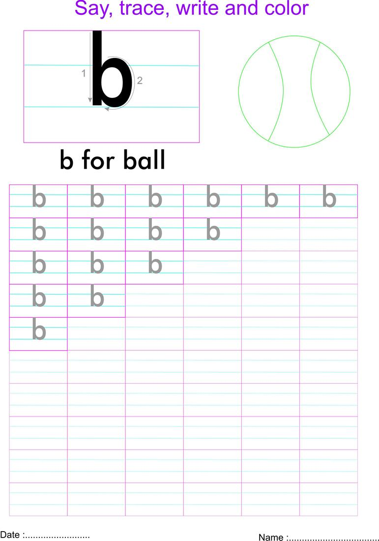 worksheet Letter B Worksheet english small letter b worksheet
