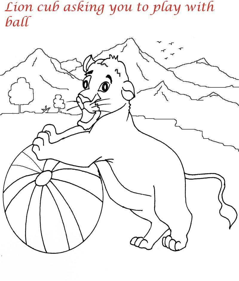 lion family coloring pages - photo#31