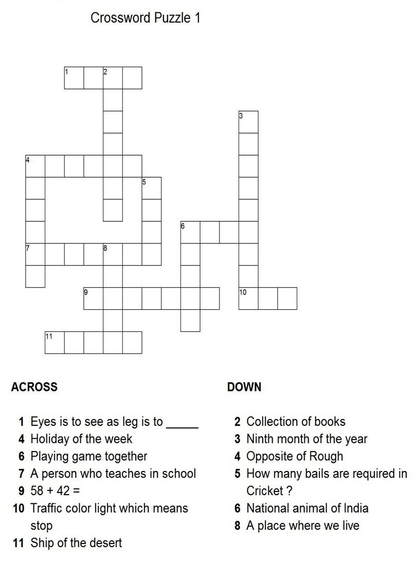 solar system crossword answers - photo #39