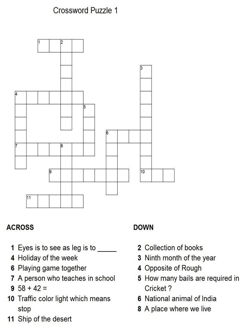 Dog Show Org Crossword