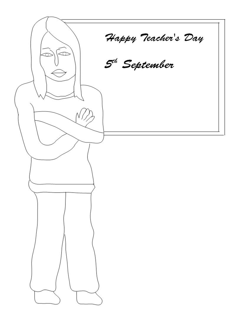 Coloring Pages Of Teachers Day ~ best ideas For Printable and ...