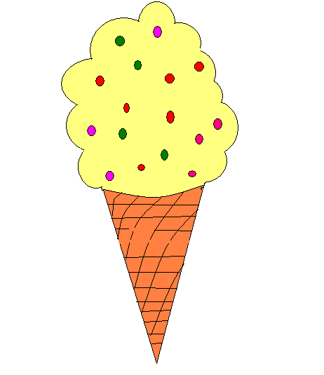 how to draw realistic ice cream step by step