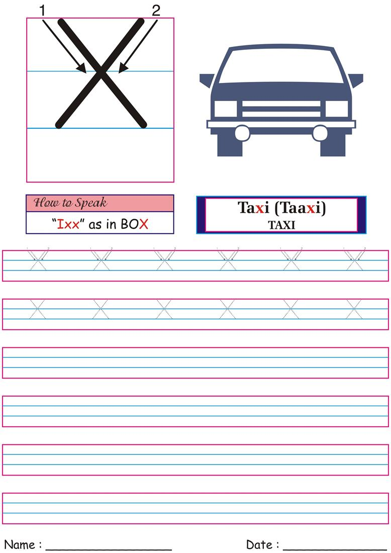 German Worksheet for practice -Ixx