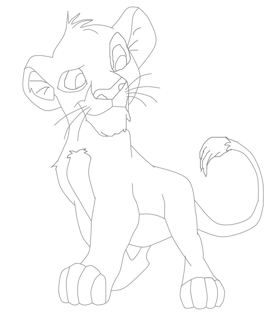 Lion King Characters Pages Coloring Pages