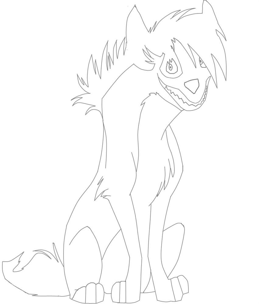 Lion King Hyenas Coloring Pages