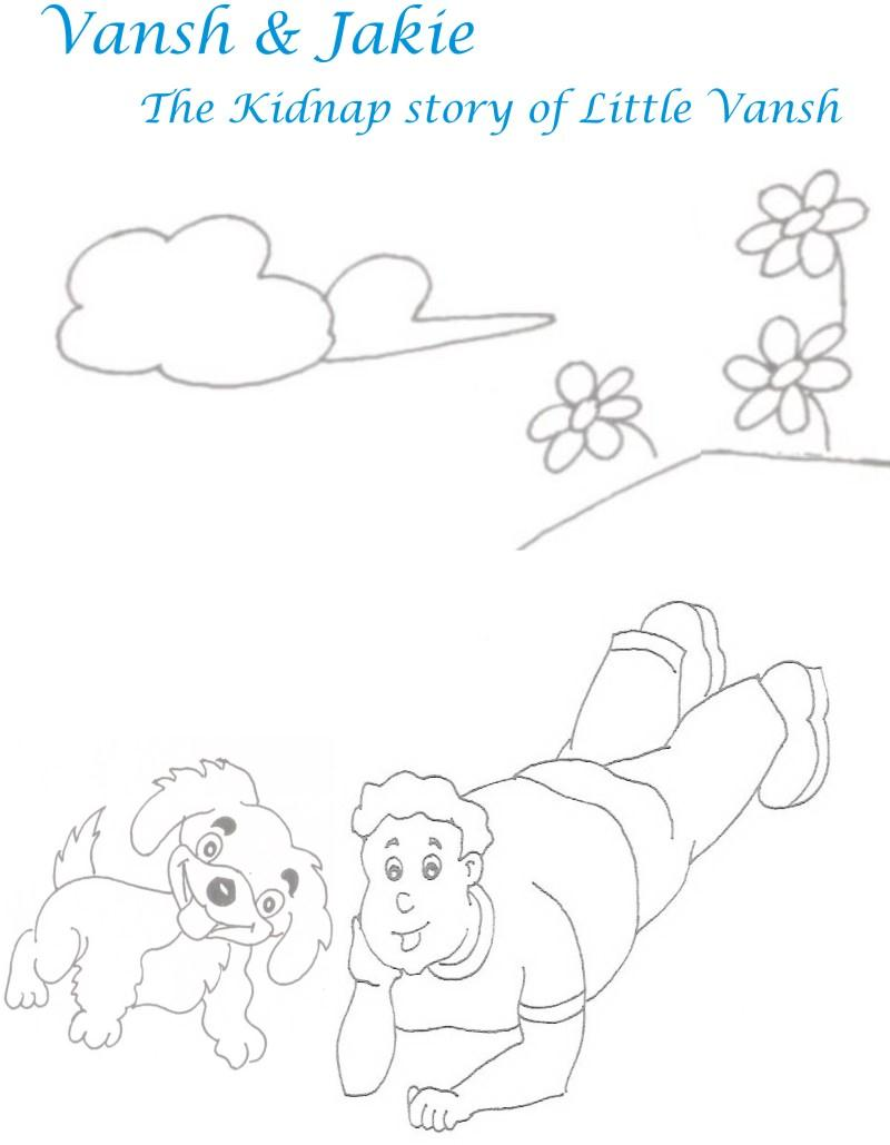 Kidnap story printable coloring pages for kids 1