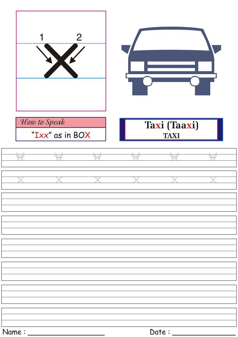 German Worksheet for Practice - ixx