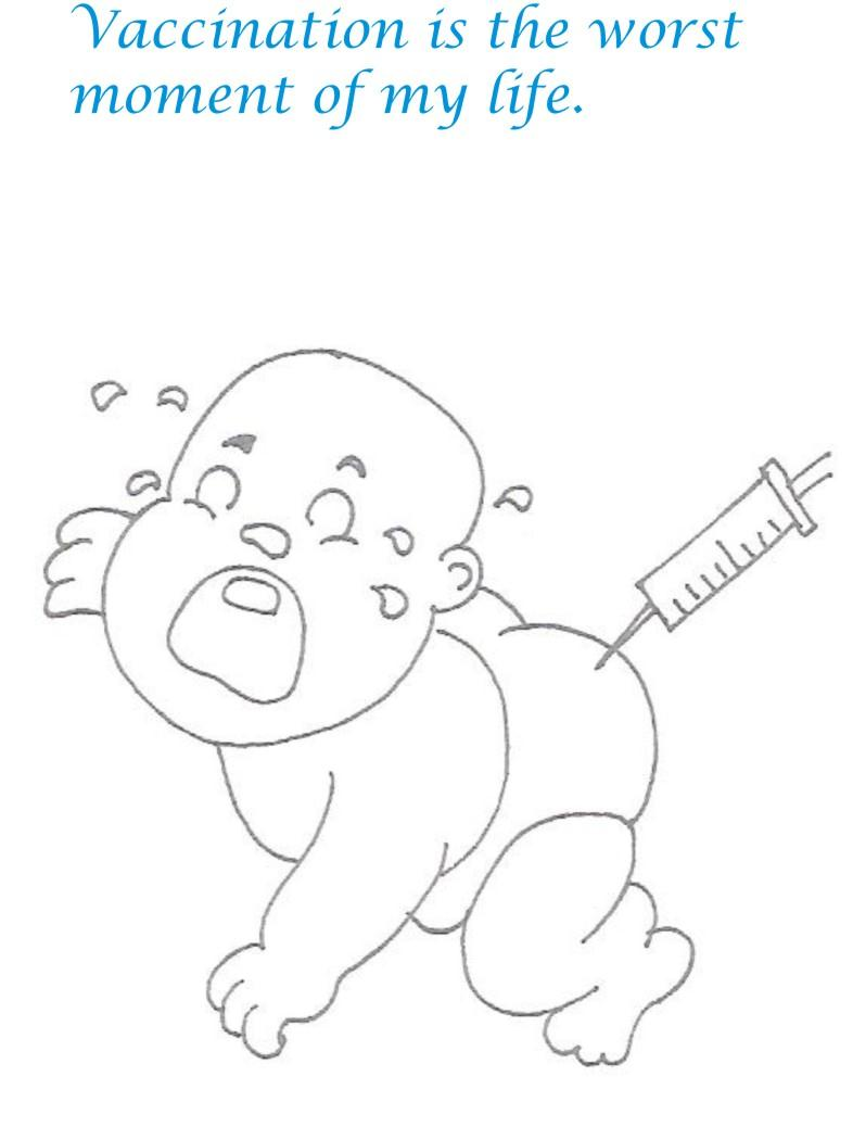 Naughty babies coloring printable page for kids 30 for Naughty coloring pages