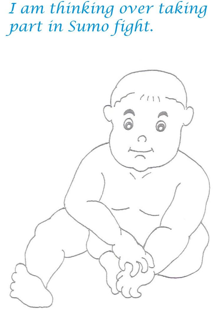 Naughty babies coloring printable page for kids 4 for Naughty coloring pages