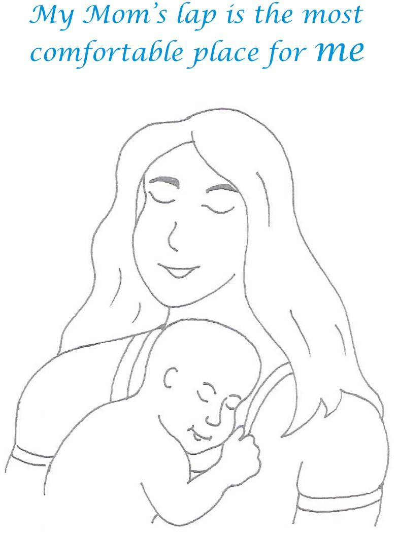 Naughty babies coloring printable page for kids 6 for Naughty coloring pages