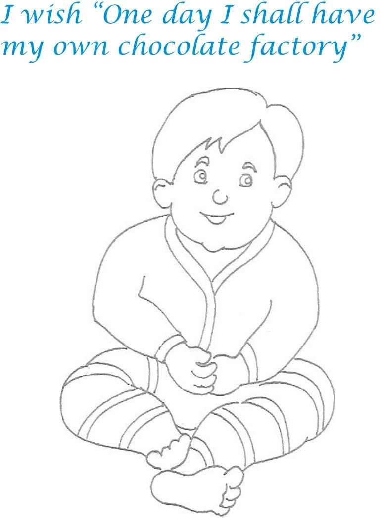 Naughty Babies Coloring Printable Page For Kids 14