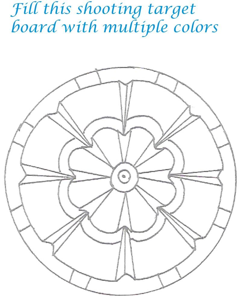 Sports goods coloring printable page for kids 2 Coloring book target
