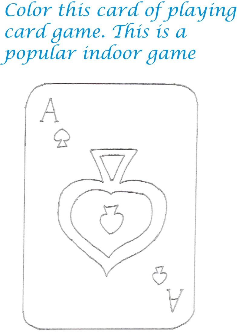 free playing cards coloring pages Playing Cards Adult Coloring Pages  Coloring Pages Playing Cards