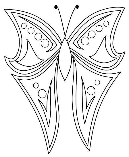 Gallery For gt Sketches Of Butterflies Step By