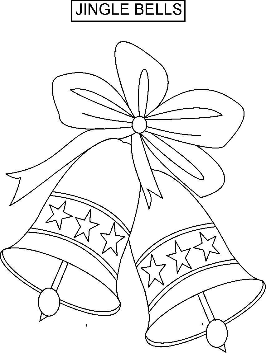 jingle bells coloring pages - photo#4
