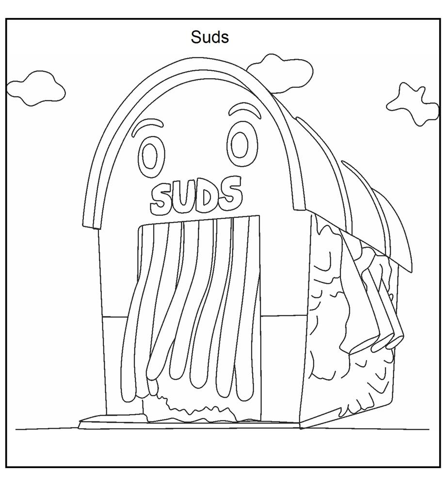 car wash coloring pages - Selo.l-ink.co