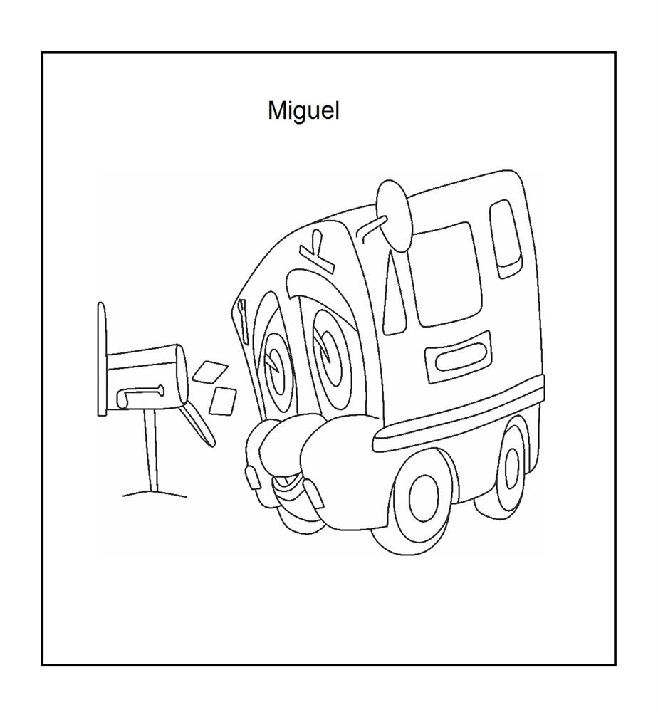mailbox coloring pages for kids | Mail box coloring printable page for kids
