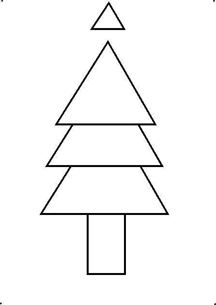 Small Upside Down Christmas Tree