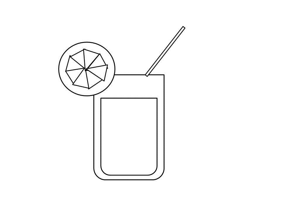 orange juice coloring pages - photo#31