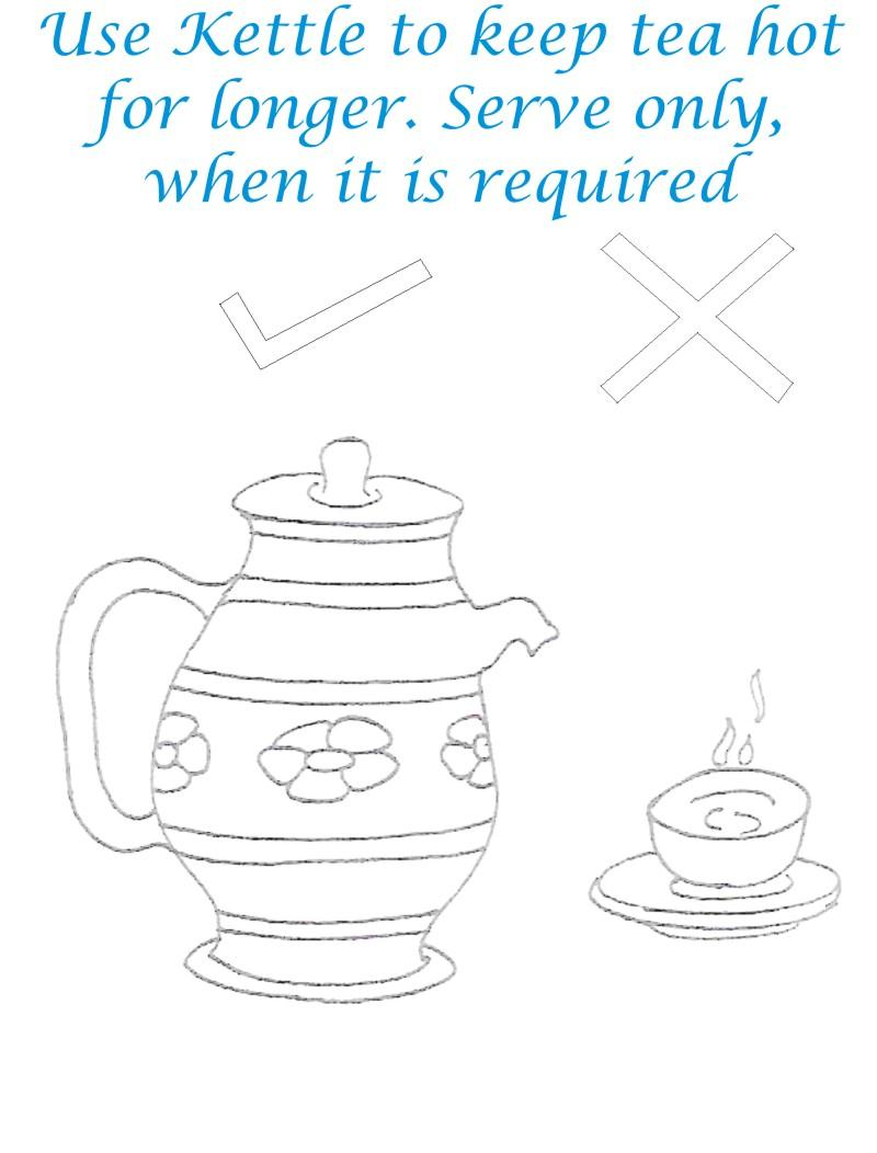 Use Kettle Save Environment Coloring Page