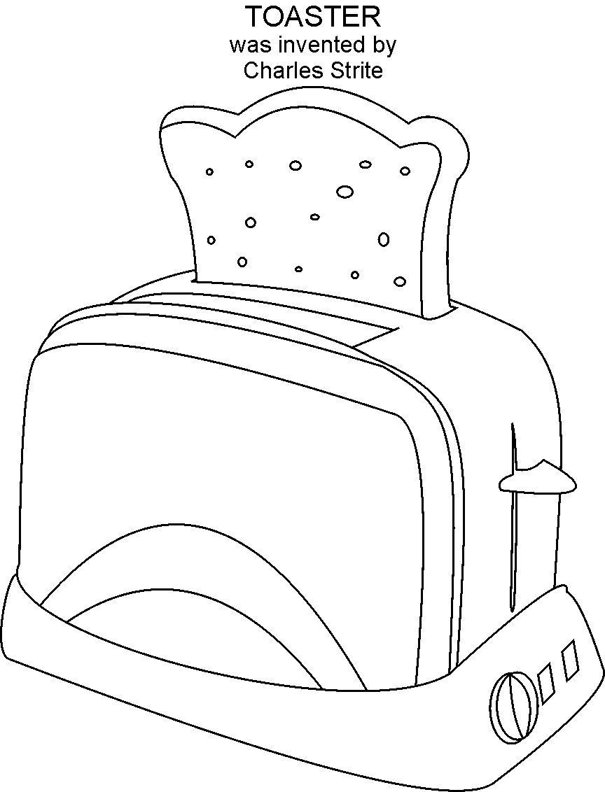 inventions coloring pages - photo#18