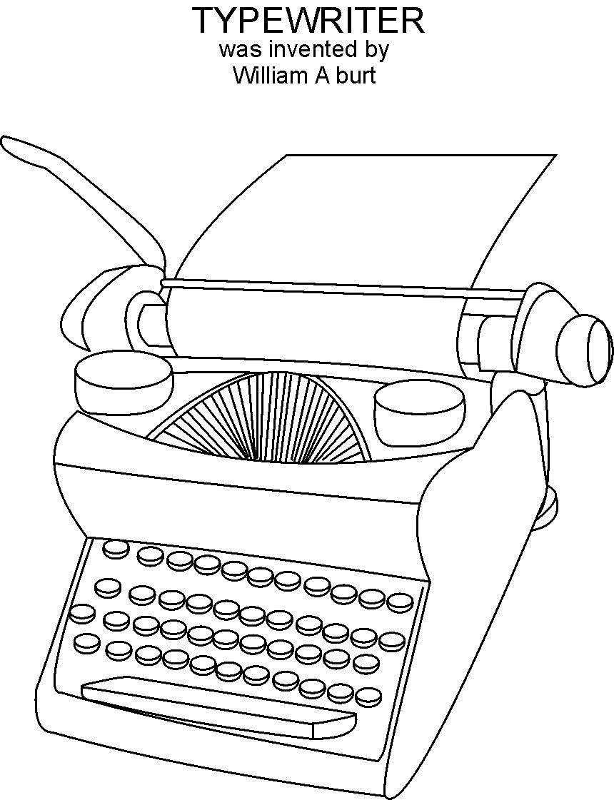 inventions coloring pages - photo#3