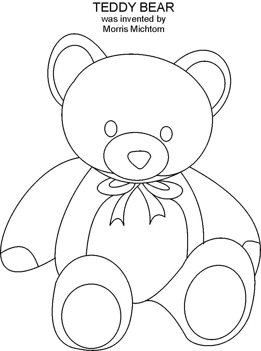 Free coloring pages teddy bears - Free Coloring Pages Teddy Bears 32