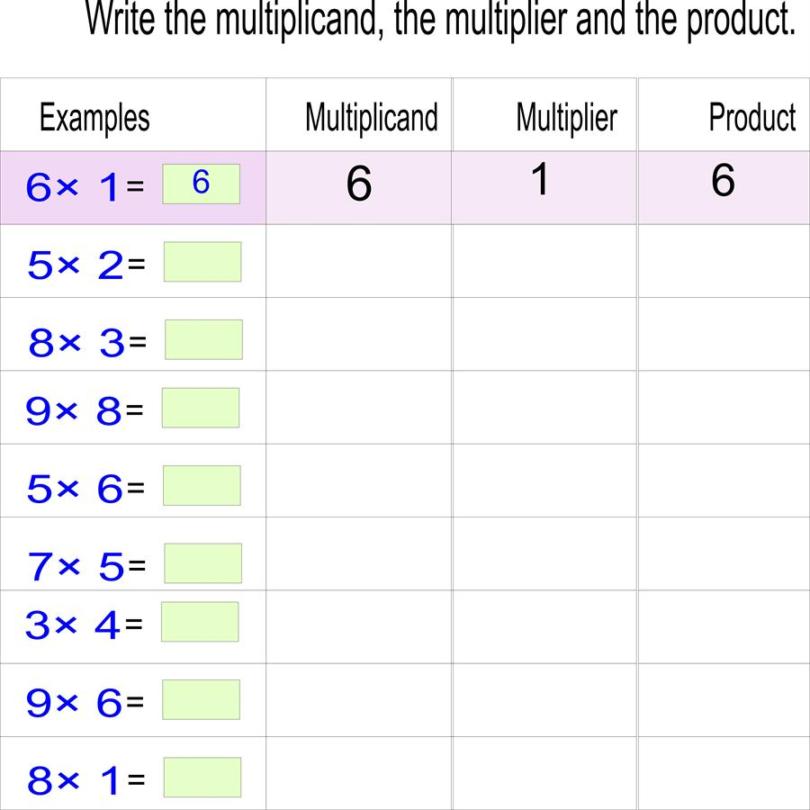 ... resources pioneer multiplication worksheets open pdf file and print