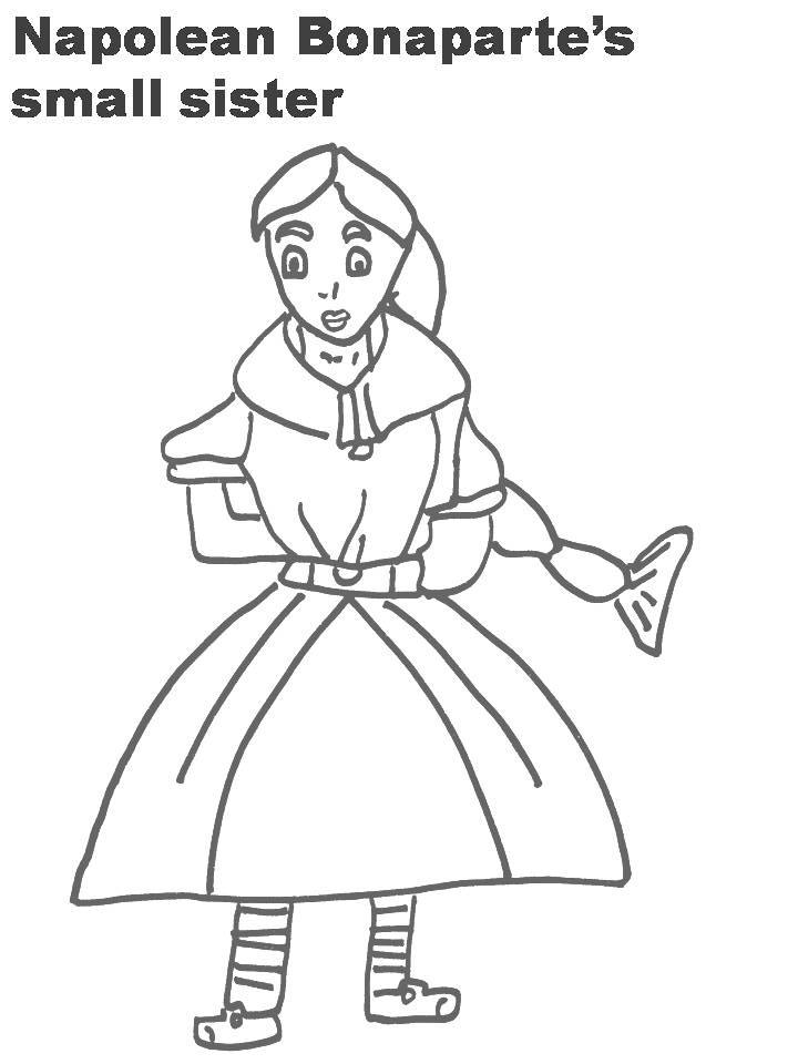 coloring pages of sisters - photo#31