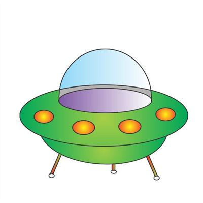 How To Draw A Flying Saucer In Some Simple And Easy Steps