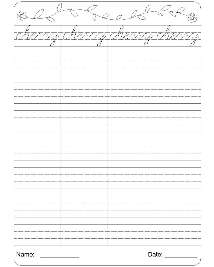 cursive english writing Title: cursive handwriting worksheets | letter a to z practice sheets author: created date: 7/26/2013 7:36:57 pm.
