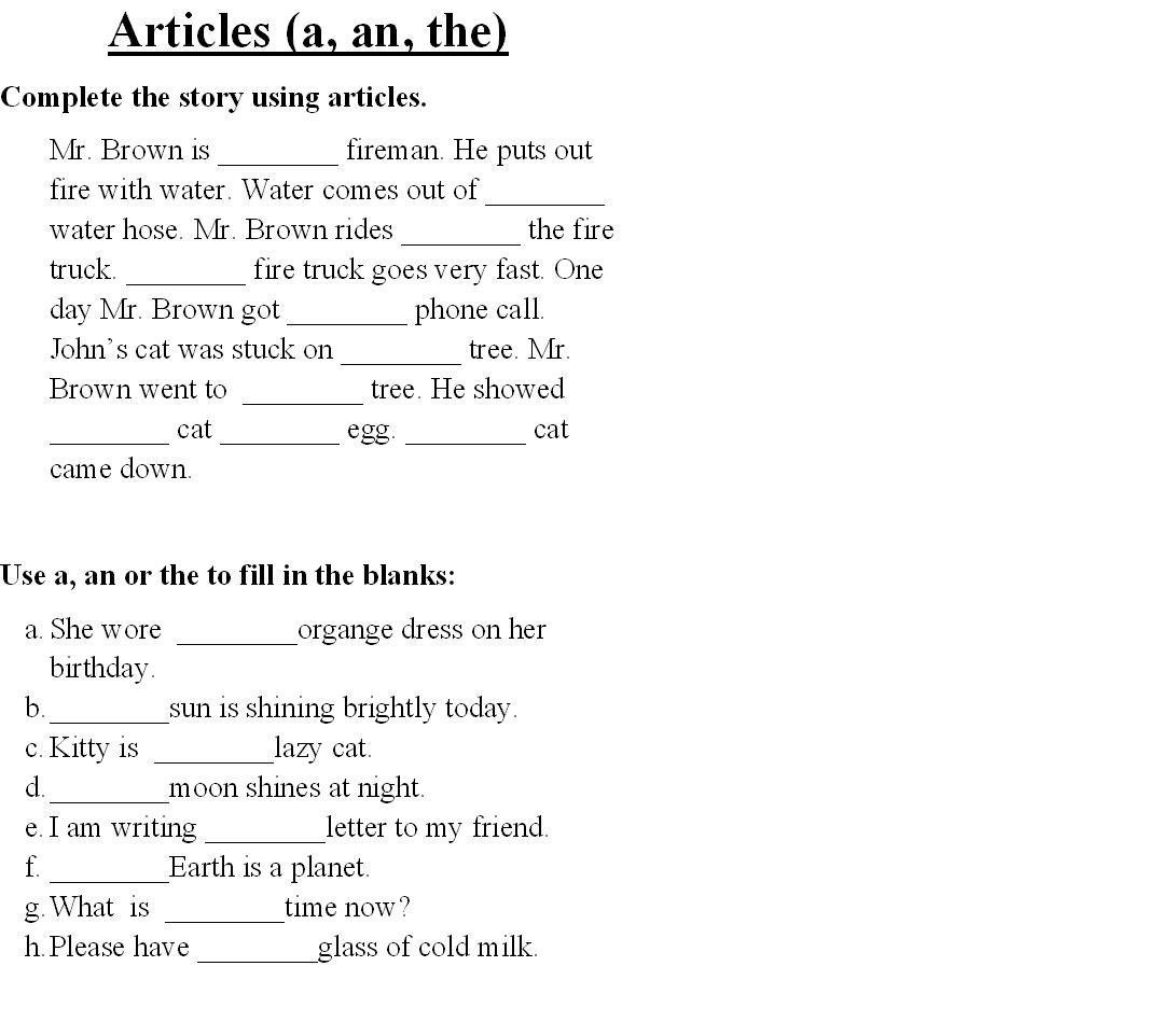 English Worksheets for Grade 1 http://www.studyvillage.com/resources/ViewAttachment.aspx?AttachmentId=7706
