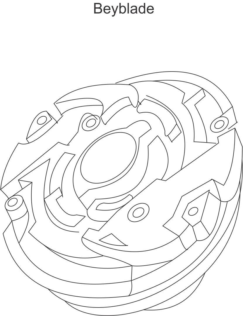 beyblade coloring pages - Beyblade Coloring Pages