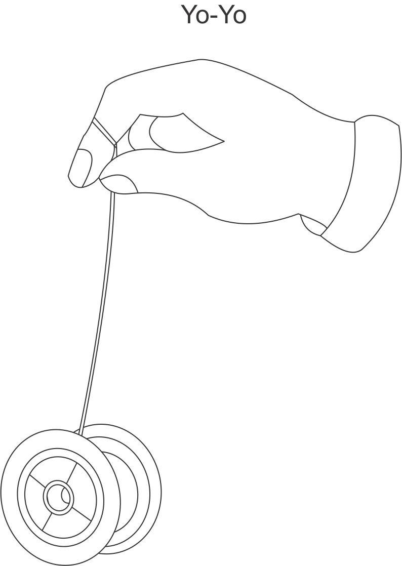 coloring pages yoyo - photo#5